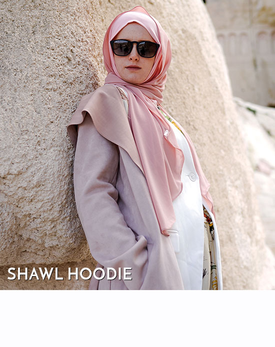 Shawl Hoodie